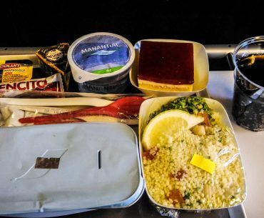 Air France - lunch