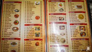 Indyjskie menu