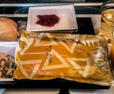 Etihad - lunch