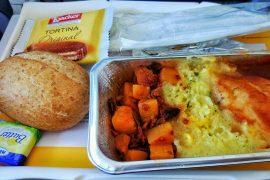 Lufthansa lunch