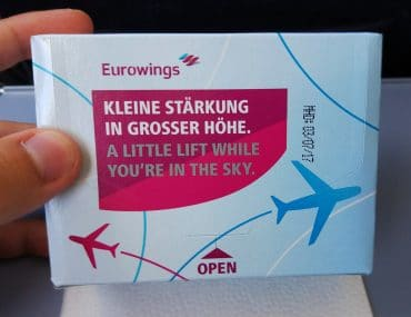 Eurowings lunch