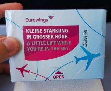 Eurowings lunch
