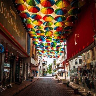 Kadriye (Turcja) – tymczasowy stary bazar