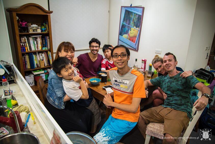 Tajwańska rodzina