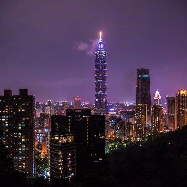 Tajpej (Tajwan) – Taipei 101, czyli najwyższy budynek świata do 2010 roku