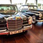 Stuttgart - Niemcy - Muzeum Mercedes-Benz