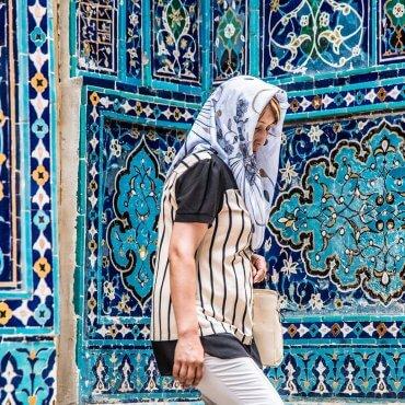 Samarkanda (Uzbekistan) – Aleja Gwiazd i zabytkowy uzbecki cmentarz