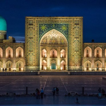 Samarkanda (Uzbekistan)  – majestatyczny Registan i jedno z najstarszych miast świata !